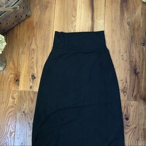 Maurices Skirts - Extremely Soft Black Maxi Skirt
